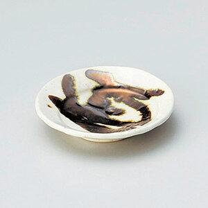 金彩粉引き丸9.5cm皿 10cm 和食器 小皿 日本製 美濃焼 業務用 取り皿 豆皿 プチ皿 プレート デザート皿 しょうゆ皿 スパイス皿 和皿 和食屋 レストラン 取り皿 プレート 27-225-397-a