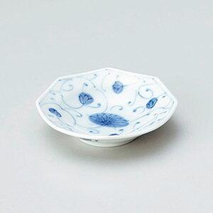 花伊万里八角深小皿 9cm 和食器 小皿 日本製 美濃焼 業務用 取り皿 豆皿 プチ皿 プレート デザート皿 しょうゆ皿 スパイス皿 和皿 和食屋 レストラン 取り皿 プレート 27-225-427-ho