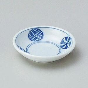 丸紋厚口3.0皿 9cm 和食器 小皿 日本製 美濃焼 業務用 取り皿 豆皿 プチ皿 プレート デザート皿 しょうゆ皿 スパイス皿 和皿 和食屋 レストラン 取り皿 プレート 27-226-437-chi