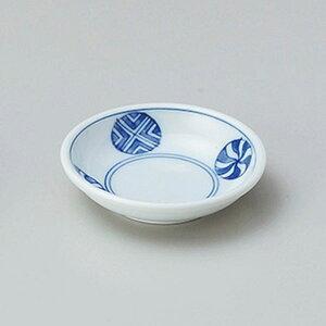 丸紋厚口2.5皿 8cm 和食器 小皿 日本製 美濃焼 業務用 取り皿 豆皿 プチ皿 プレート デザート皿 しょうゆ皿 スパイス皿 和皿 和食屋 レストラン 取り皿 プレート 27-226-447-chi