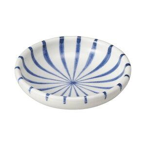 十草 3.0皿 9cm 和食器 小皿 日本製 美濃焼 業務用 取り皿 豆皿 プチ皿 プレート デザート皿 しょうゆ皿 スパイス皿 和皿 和食屋 レストラン 取り皿 プレート 27-227-217-chi