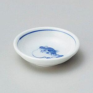 フグ厚口3.0皿 9cm 和食器 小皿 日本製 美濃焼 業務用 取り皿 豆皿 プチ皿 プレート デザート皿 しょうゆ皿 スパイス皿 和皿 和食屋 レストラン 取り皿 プレート 27-226-427-chi