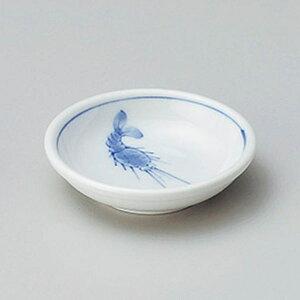 エビ厚口3.0皿 9cm 和食器 小皿 日本製 美濃焼 業務用 取り皿 豆皿 プチ皿 プレート デザート皿 しょうゆ皿 スパイス皿 和皿 和食屋 レストラン 取り皿 プレート 27-226-407-chi
