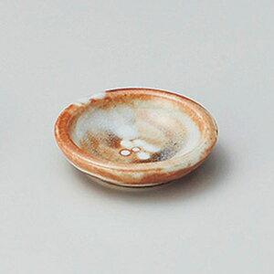 鼡志野梅紋小皿 8cm 和食器 小皿 日本製 美濃焼 業務用 取り皿 豆皿 プチ皿 プレート デザート皿 しょうゆ皿 スパイス皿 和皿 和食屋 レストラン 取り皿 プレート 27-225-577-ki