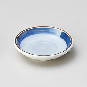 渕帯2.8皿 9cm 和食器 小皿 日本製 美濃焼 業務用 取り皿 豆皿 プチ皿 プレート デザート皿 しょうゆ皿 スパイス皿 和皿 和食屋 レストラン 取り皿 プレート 27-227-267-a
