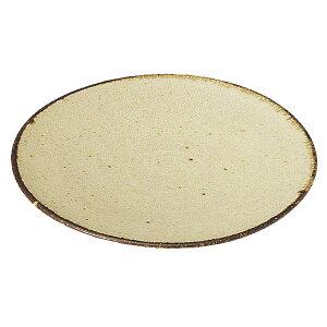 くつろぎ 粉引 16cmケーキ皿 16cm 和食器 丸中皿 おしゃれ カフェ 和風 日本製 美濃焼 業務用 27-540-067-i