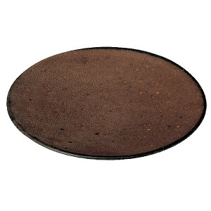 くつろぎ アメ 16cmケーキ皿 16cm 和食器 丸中皿 おしゃれ カフェ 和風 日本製 美濃焼 業務用 27-540-147-i