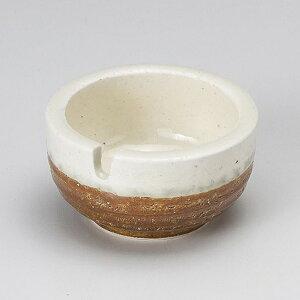 伊賀白流し灰皿小 和食器 灰皿 日本製 美濃焼 業務用 はい皿 おしゃれ 卓上 はいざら 陶器 27-744-207-ne