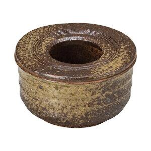 手造り灰吹き灰皿 和食器 灰皿 日本製 美濃焼 業務用 はい皿 おしゃれ 卓上 はいざら 陶器 27-744-127-mi