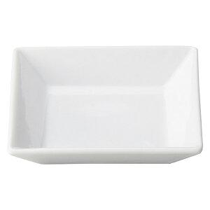 プレッツァ 12cm 角皿 洋食器 角型プレート 15cm以下 日本製 美濃焼 業務用 角皿 四角 取り皿 おしゃれ プレート かわいい お皿 ケーキ皿 小皿 豆皿 カフェ風 cafe風 角皿 白い皿 27-564-377-ya