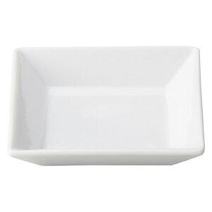 プレッツァ 10cm 角皿 洋食器 角型プレート 15cm以下 日本製 美濃焼 業務用 角皿 四角 取り皿 おしゃれ プレート かわいい お皿 ケーキ皿 小皿 豆皿 カフェ風 cafe風 角皿 白い皿 27-564-387-ya