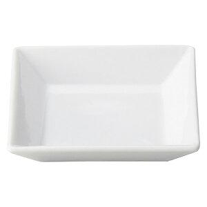 プレッツァ 8cm 角皿 洋食器 角型プレート 15cm以下 日本製 美濃焼 業務用 角皿 四角 取り皿 おしゃれ プレート かわいい お皿 ケーキ皿 小皿 豆皿 カフェ風 cafe風 角皿 白い皿 27-564-397-ya