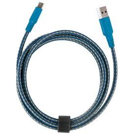 ENERGEA CBL-NT20CA-BLU150(ブルー) スマートフォン(汎用) 2.0 USB-C to USB-A Charge Cable 1.5m