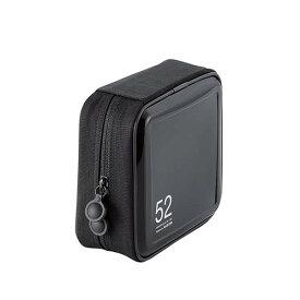 エレコム CCD-H52BK(ブラック) CD/DVDファスナーケース 52枚