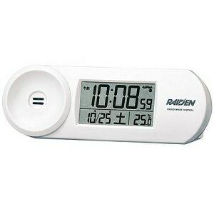 セイコー NR532W(ホワイト) 電波目覚まし時計