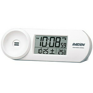 SEIKO NR532W(ホワイト) 電波目覚まし時計