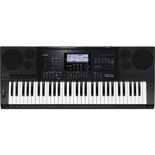 CASIO CTK-7200 ハイグレードキーボード 61鍵盤