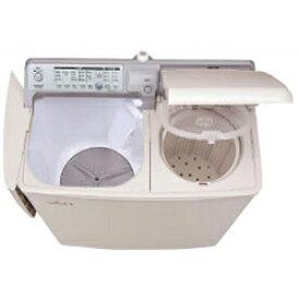 日立 PA-T45K5-CP(パインベージュ) 青空 2槽式洗濯機 洗濯4.5kg/脱水5kg