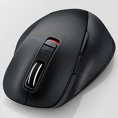 エレコム M-XGM10BBBK(ブラック) Bluetooth 3.0 Class2 光学センサー方式マウス 5ボタン