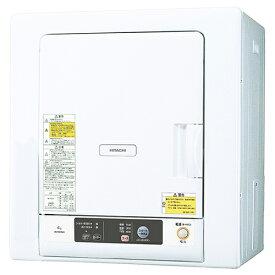 日立 DE-N40WX(ピュアホワイト) 衣類乾燥機 4kg