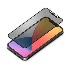 PGA PG-20GGL05FMB iPhone12/12Pro用 液晶保護ガラス 全面 Dragontrail 覗き見防止