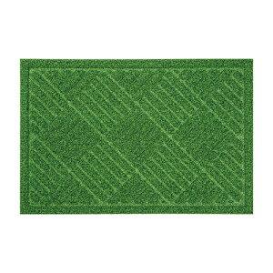 ベストコ ND-612(グリーン) 芝生調玄関マット 40×60cm