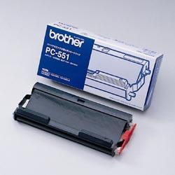 ブラザー PC-551 純正 FAX用リボンカートリッジ 42m