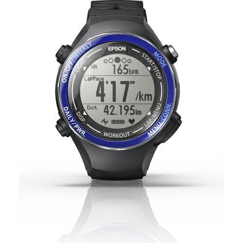エプソン SF-850PS(スポーティングブルー) Wristable GPS ランニングギア 腕時計タイプ