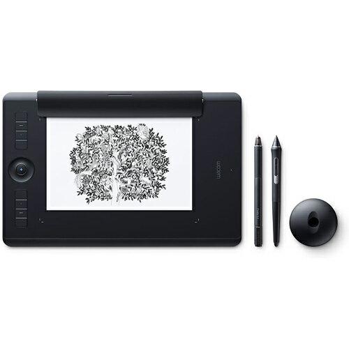 ワコム PTH-660/K1(ブラック) Intuos Pro ワイヤレス ペンタブレット Paper Edition Medium