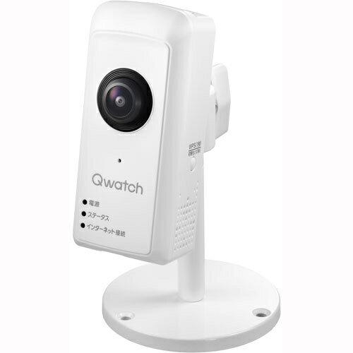 IODATA TS-WRFE Qwatch(クウォッチ) 無線LAN対応 180°パノラマビュー対応ネットワークカメラ