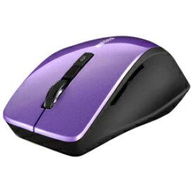 バッファロー BSMBW320PU(パープル) USB ワイヤレスBlueLEDマウス 2.4GHz接続 5ボタン