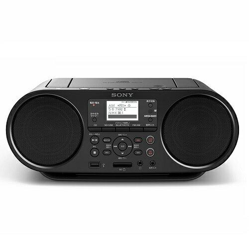 ソニー SONY USB/Bluetooth対応CDラジオ ZS-RS81BT CD録音/ラジオ録音/SDカード対応/USB
