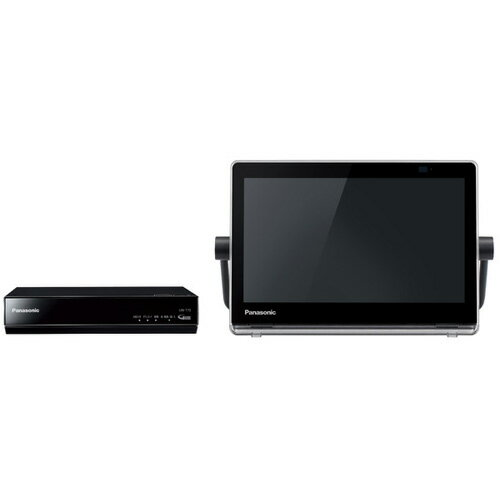 パナソニック Panasonic VIERA プライベート・ビエラ 10V型 防水対応 UN-10T7-K ブラック 防水モニター/最長約3時間30分使用可能/タッチパネル/内蔵HDD500GB