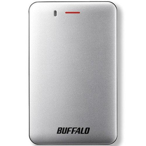 バッファロー SSD-PM480U3A-S(シルバー) 外付SSD 480GB USB3.1接続 耐衝撃