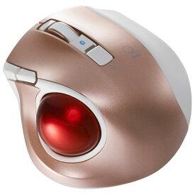 ナカバヤシ MUS-TBLF134P(ピンク) 小型Bluetooth トラックボールマウス 静音 5ボタン