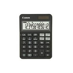 CANON KS-125WUC-BK(ファントムブラック) KS-125シリーズ カラフル電卓 12桁