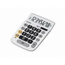 CASIO MU-8A ユニバーサルデザイン電卓 8桁