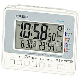 26424dbe22 CASIO DQL-250J-8JF(シルバー) 電波目覚まし時計 DQL-250Jシリーズ