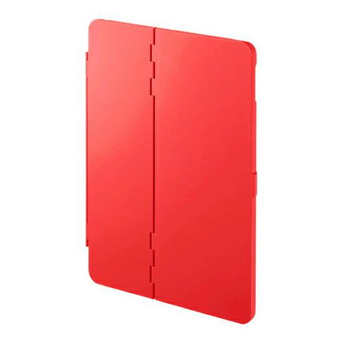 サンワサプライ PDA-IPAD1004R iPad 9.7インチ ハードケース(スタンドタイプ・赤)