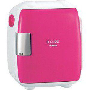 【設置+リサイクル+長期保証】ツインバード工業 HR-DB06P(ピンク) D-CUBE S 保冷・保温庫 5.5L