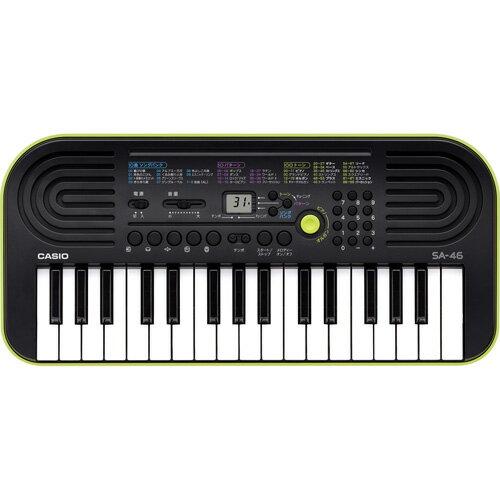 CASIO カシオ 電子ミニキーボード 32鍵盤 SA-46