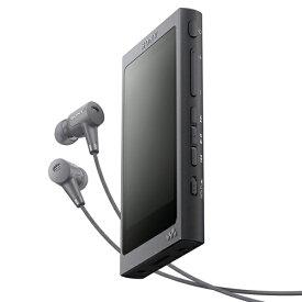 ソニー NW-A45HN-B(グレイッシュブラック) ソニー ウォークマンAシリーズ 16GB
