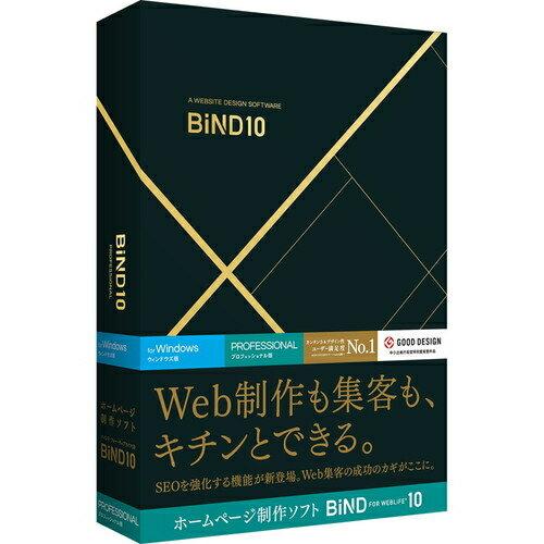 デジタルステージ BiND for WebLiFE 10 プロフェッショナル Windows版 DSP-04502(通常版)