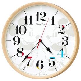 cabb257abb セイコー FW584A(薄茶) DISNEY(ディズニー) ミッキー&フレンズ 電波掛時計