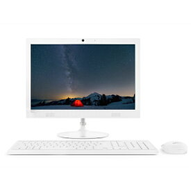 Lenovo F0D7001VJP(ホワイト) ideacentre AIO 330 19.5型液晶 Celeron J4005搭載