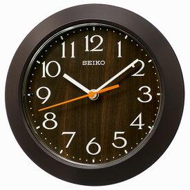 セイコー KX245B(濃茶) スタンダード掛け時計