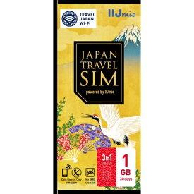 IIJ Japan Travel SIM 1GB(Type D) マルチSIM IM-B251