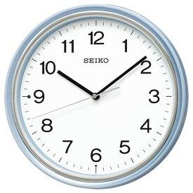 セイコー KX252L(薄青パール) スタンダード 電波掛け時計