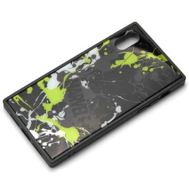 PGA PG-DCS614BK(スプラッシュロゴ/ブラック) iPhone XS/X用 ハイブリッドケース MARVEL