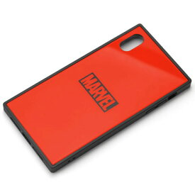 PGA PG-DCS632RD(ロゴ/レッド) iPhone XS Max用 ハイブリッドケース MARVEL